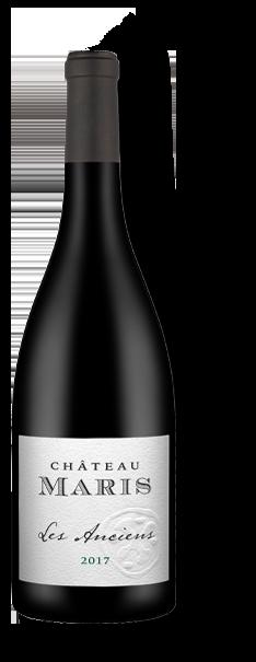 Bouteille de vin rouge Les Anciens