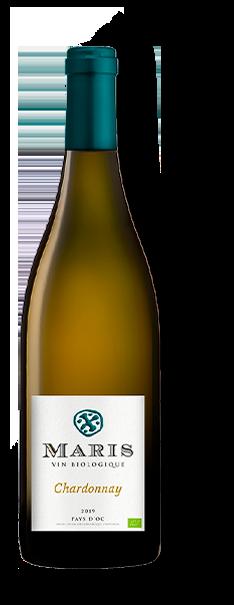 Bouteille de vin blanc Pays d'Oc blanc