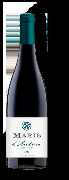 Bouteille de vin rouge L'Autan