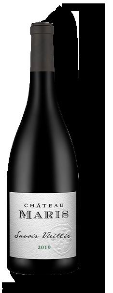 Bottle of Savoir Vieillir red wine