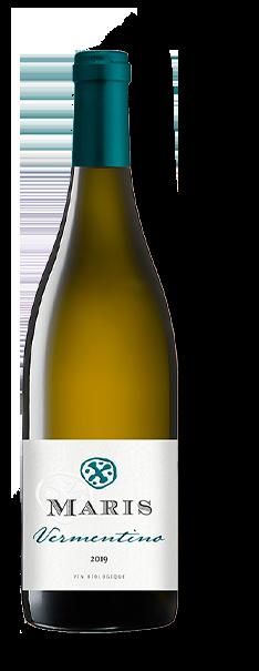Bouteille de vin blanc Pays d'Oc Vermentino