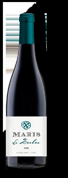 Bottle of Le Zulu red wine