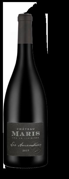 Bouteille de vin rouge Les Amandiers