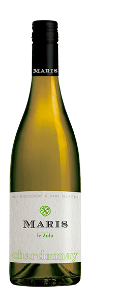 Le Zulu Chardonnay 2020 Maris Organic White Wine